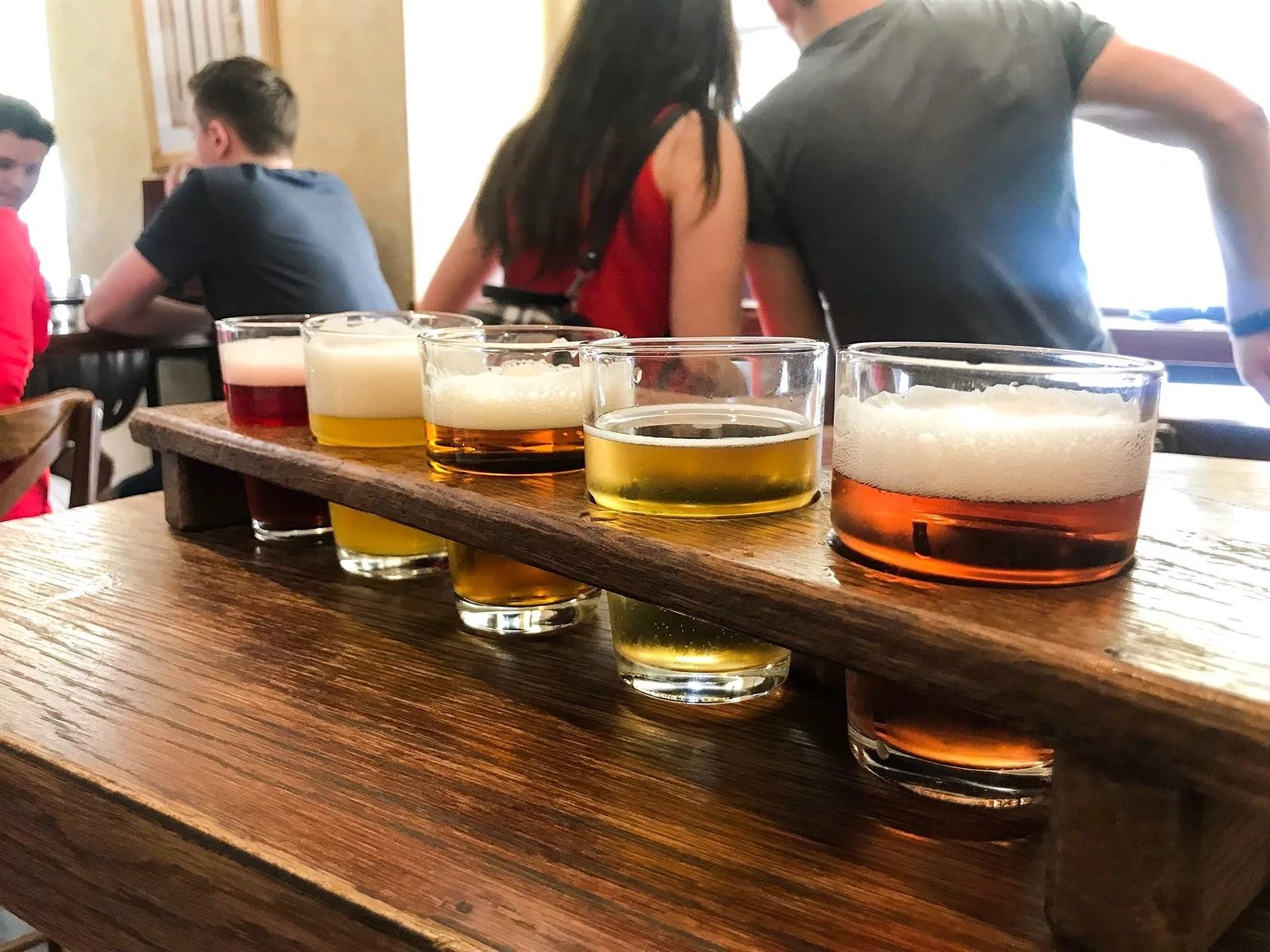 Bar-crawl i Prag