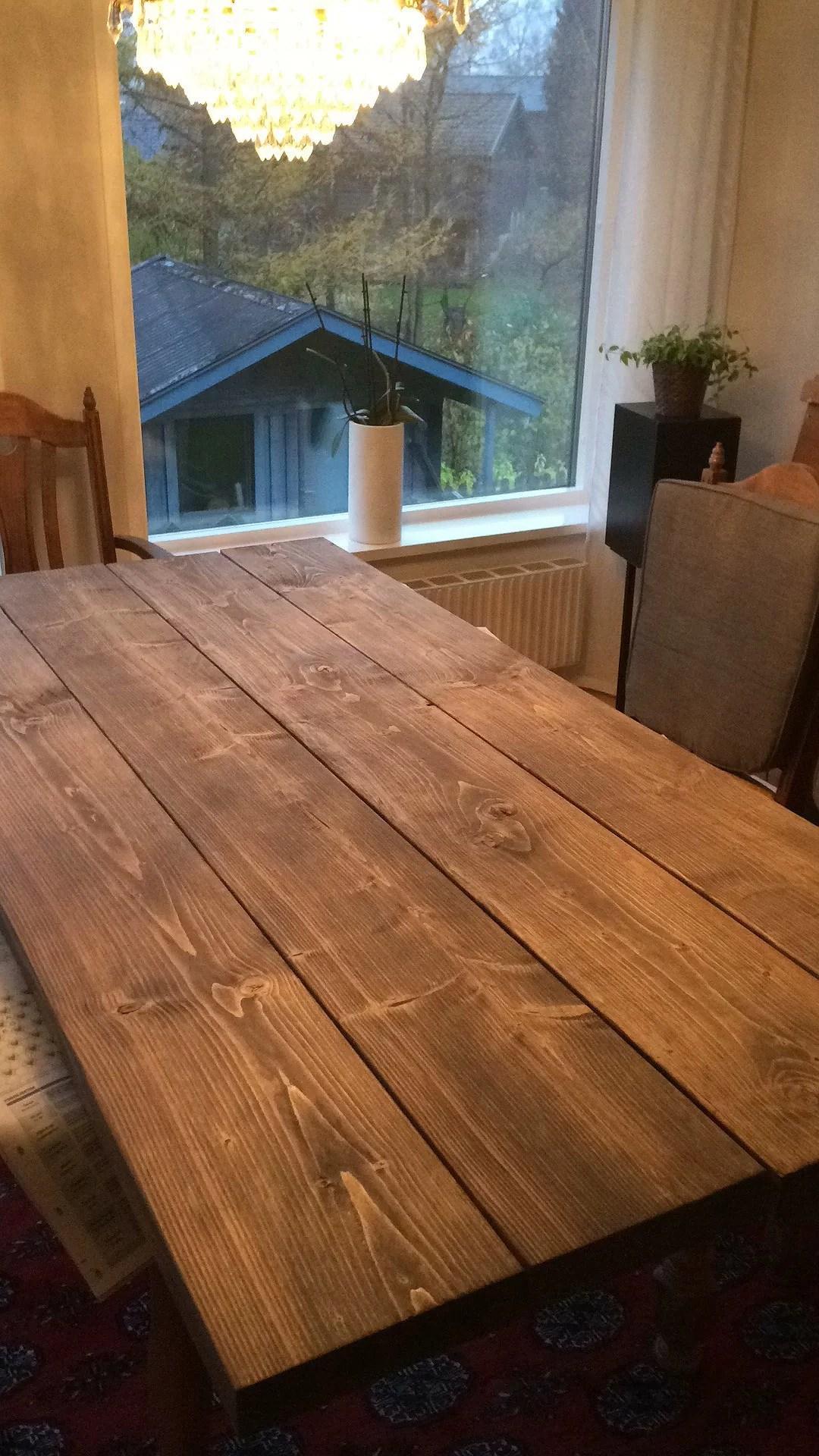 Bordet är snart färdigt!