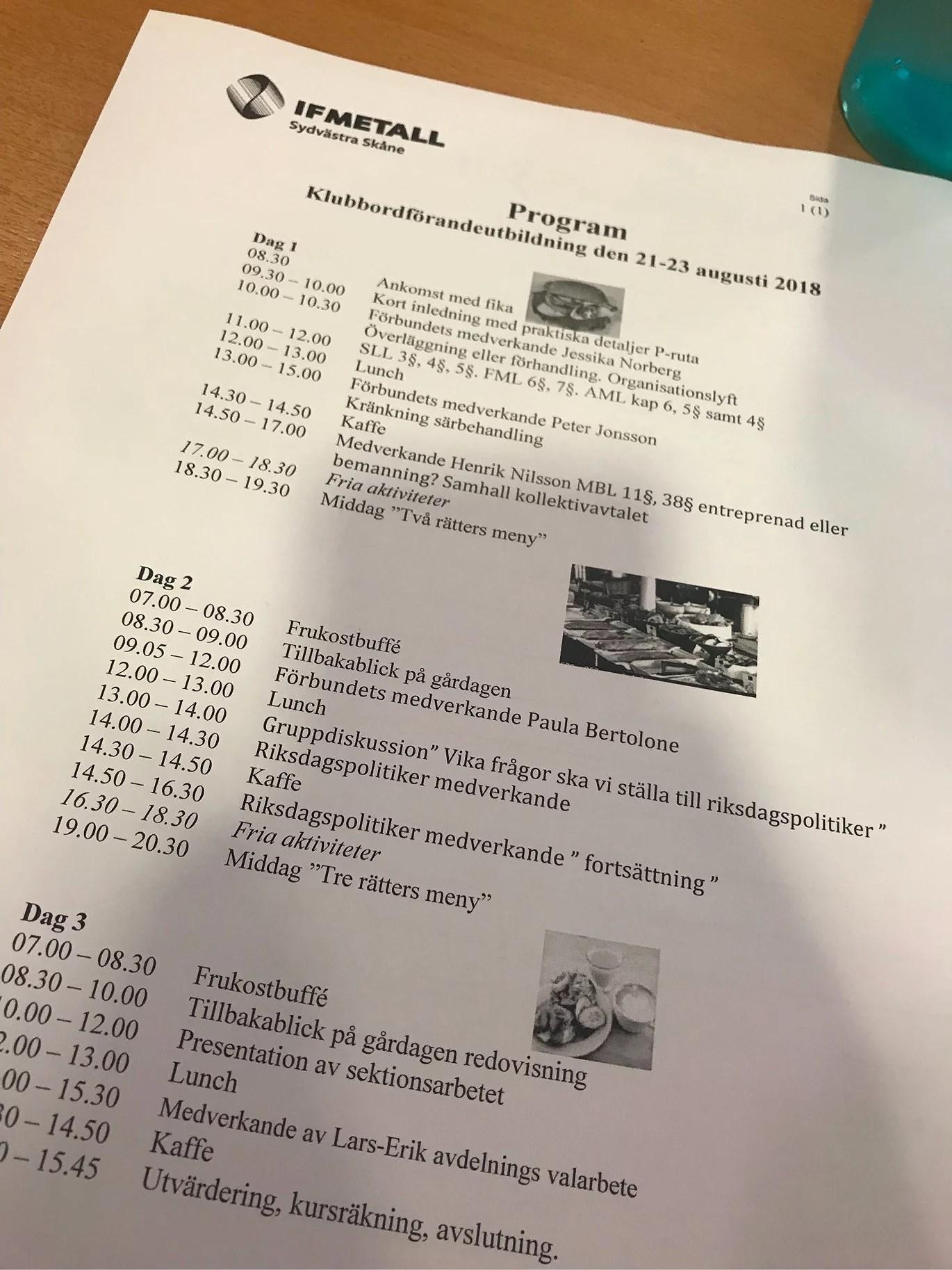 Klubbordförandekonferens