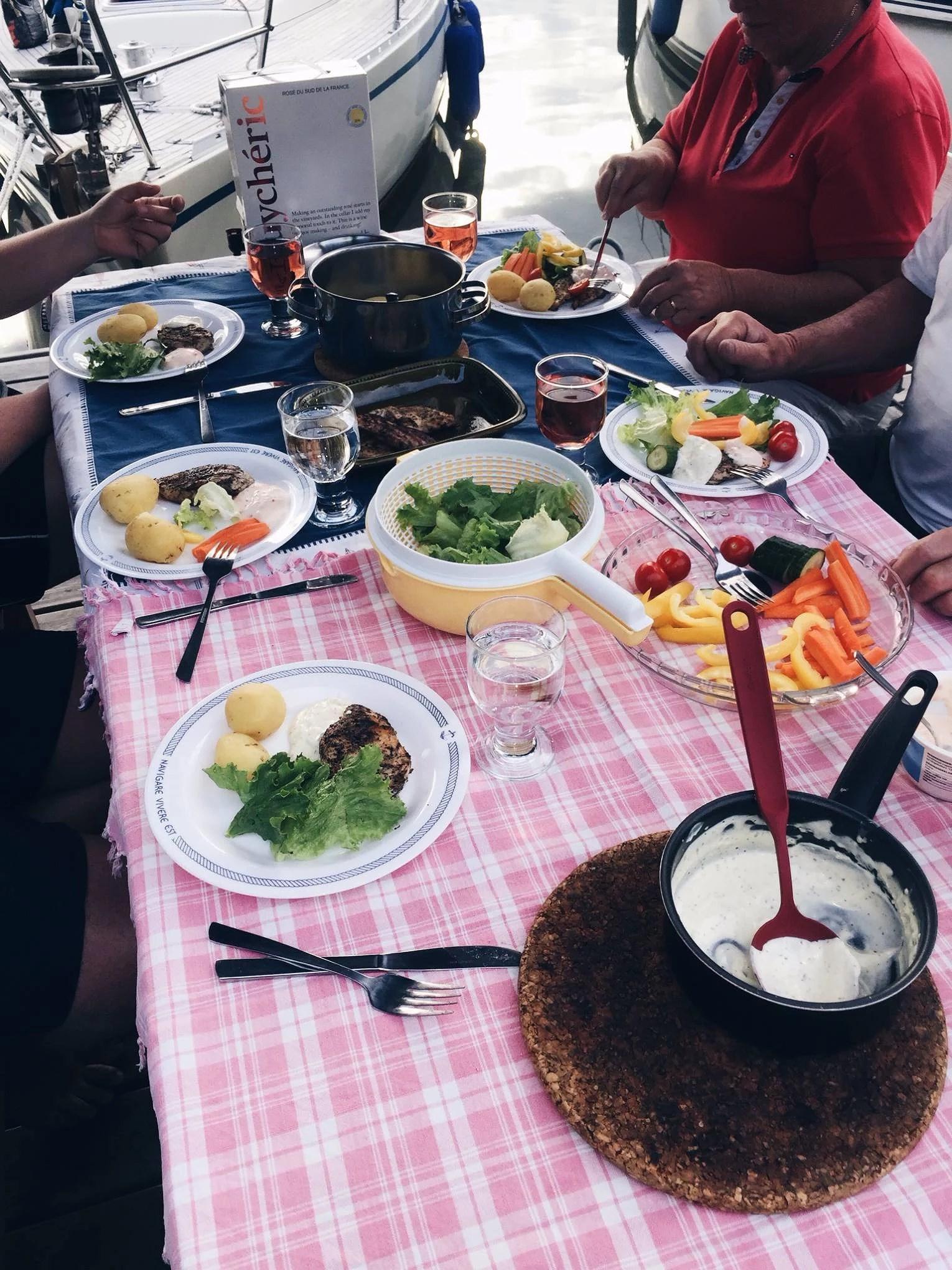 Gårdagens mat