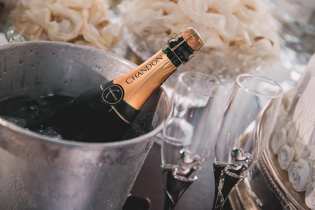 Temperatur på Champagne