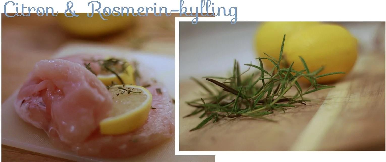 SUND TORSDAG: Citronkylling med rosmarin