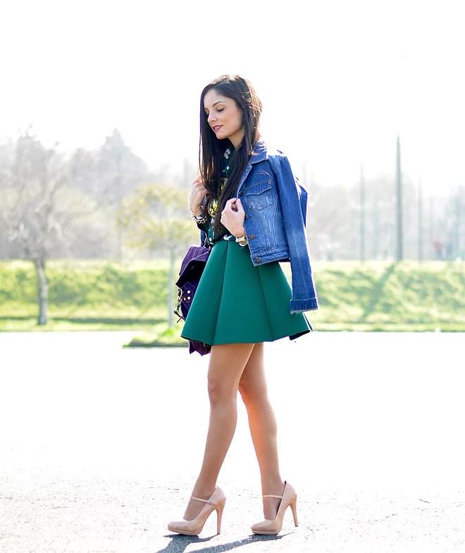 Neo Green Skirt_02