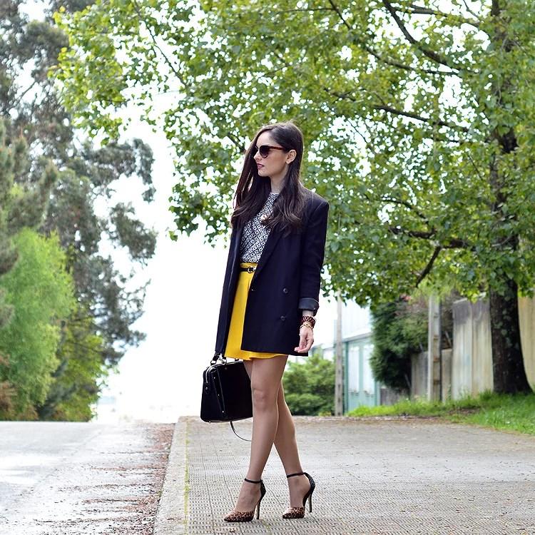 Zara_ootd_outfit_yellow_animal_print_blazer_05