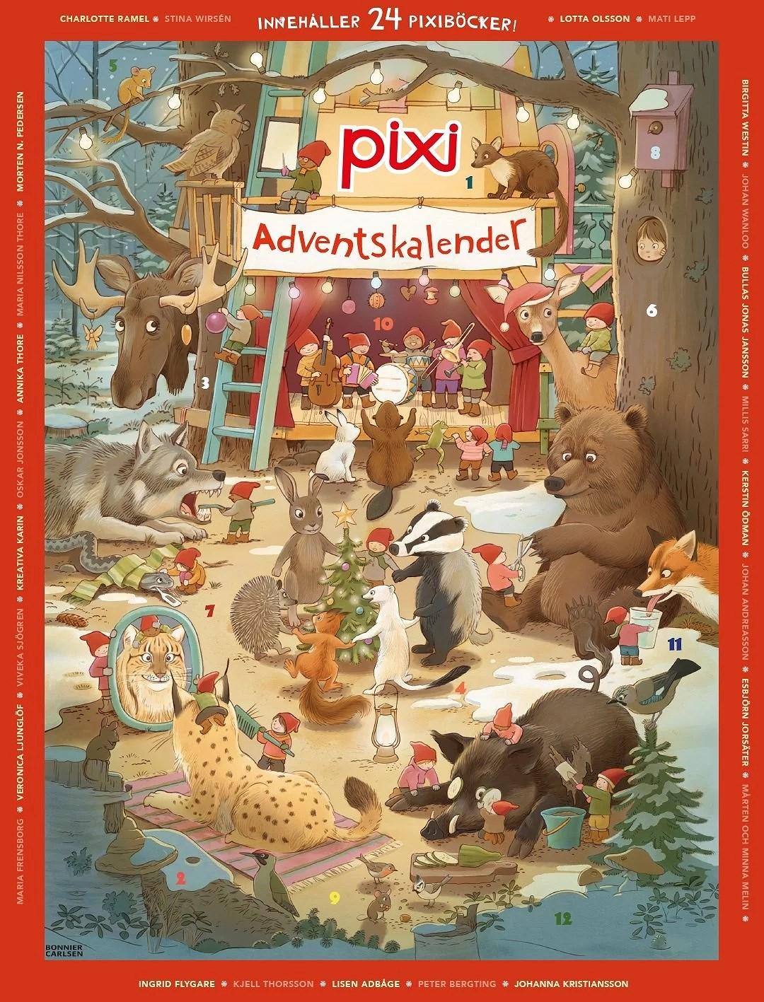 Vi är med i PIXI Adventskalender 2016!