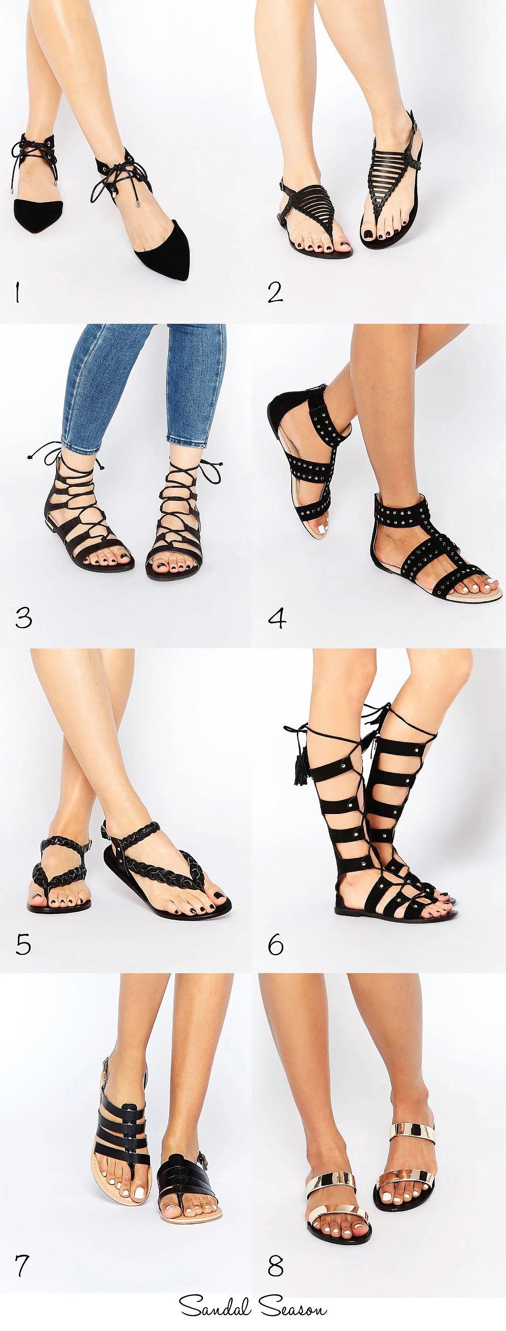 Asos, Asos sandaler, Sandal udsalg, Asos udsalg, Mid Season Sale, It's My Passions, Modeblogger