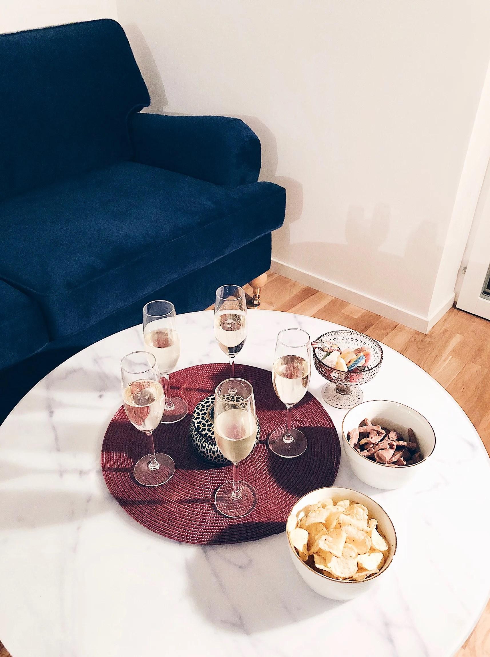 Sneakpeak på lägenheten + helgen