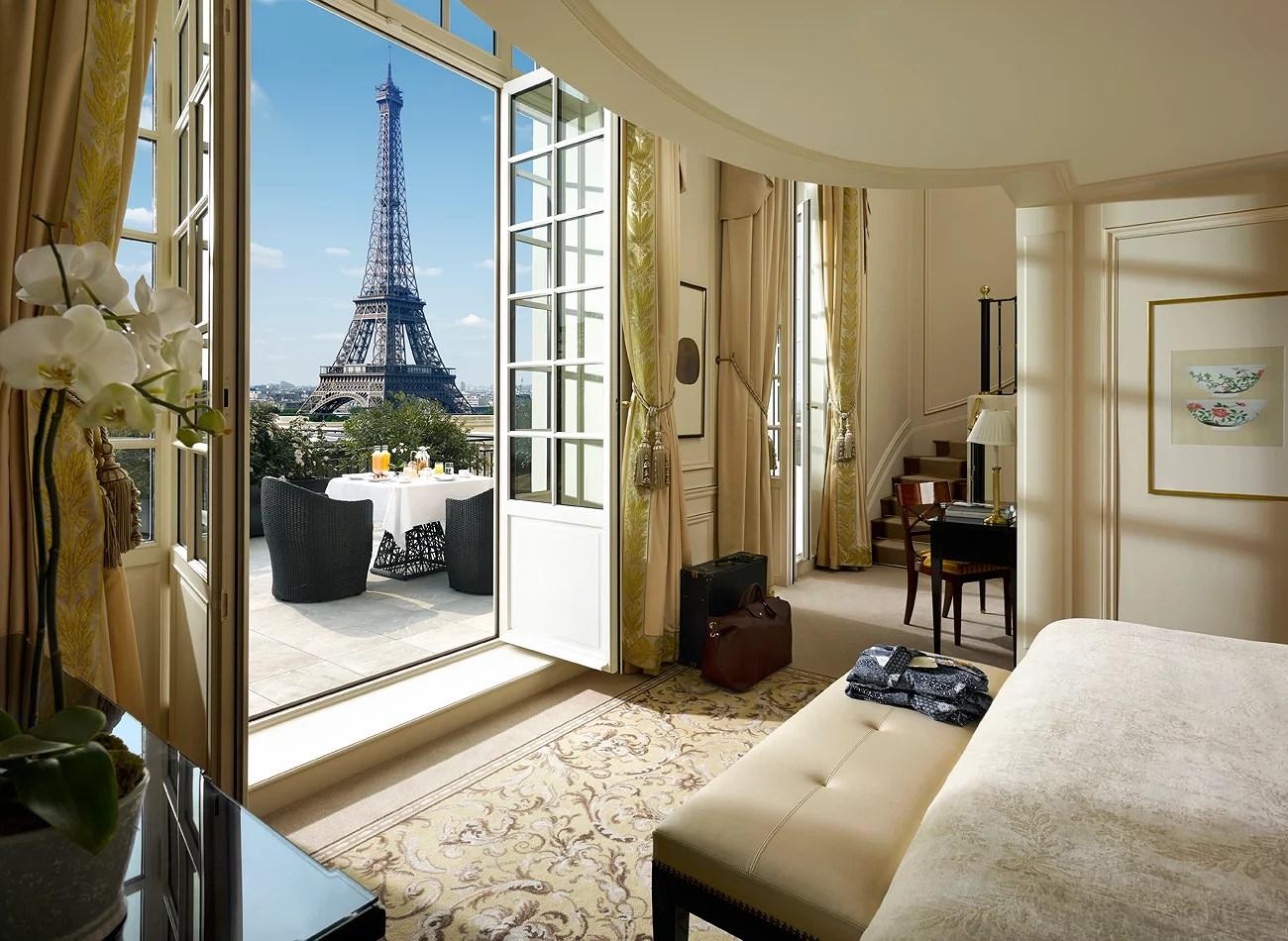 Lyxhotell i Paris