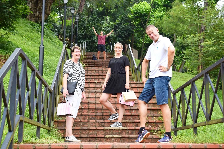 Postkort fra Singapore