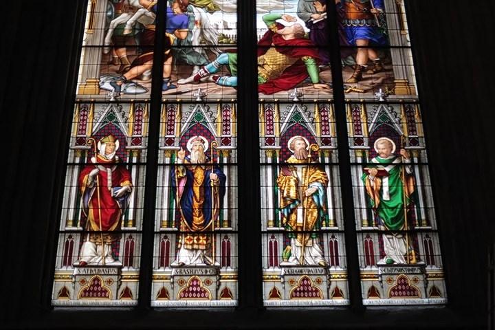 vidriera iglesia colonia