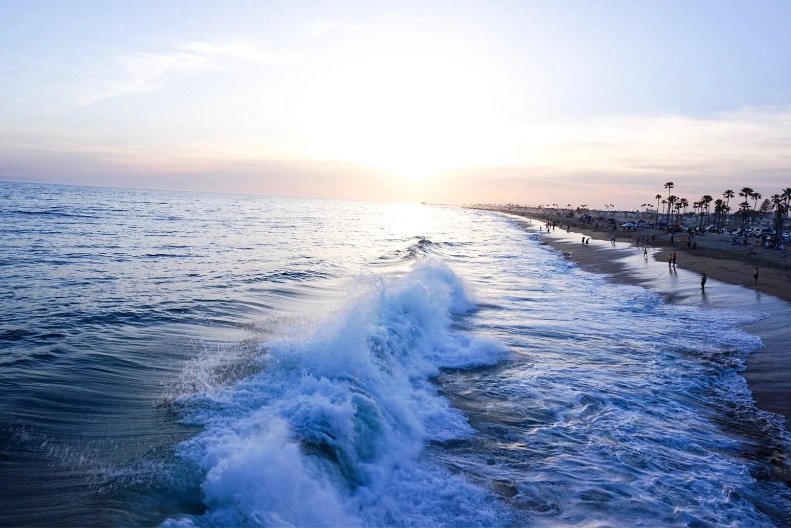 NEWPORT BEACH SUNSETS