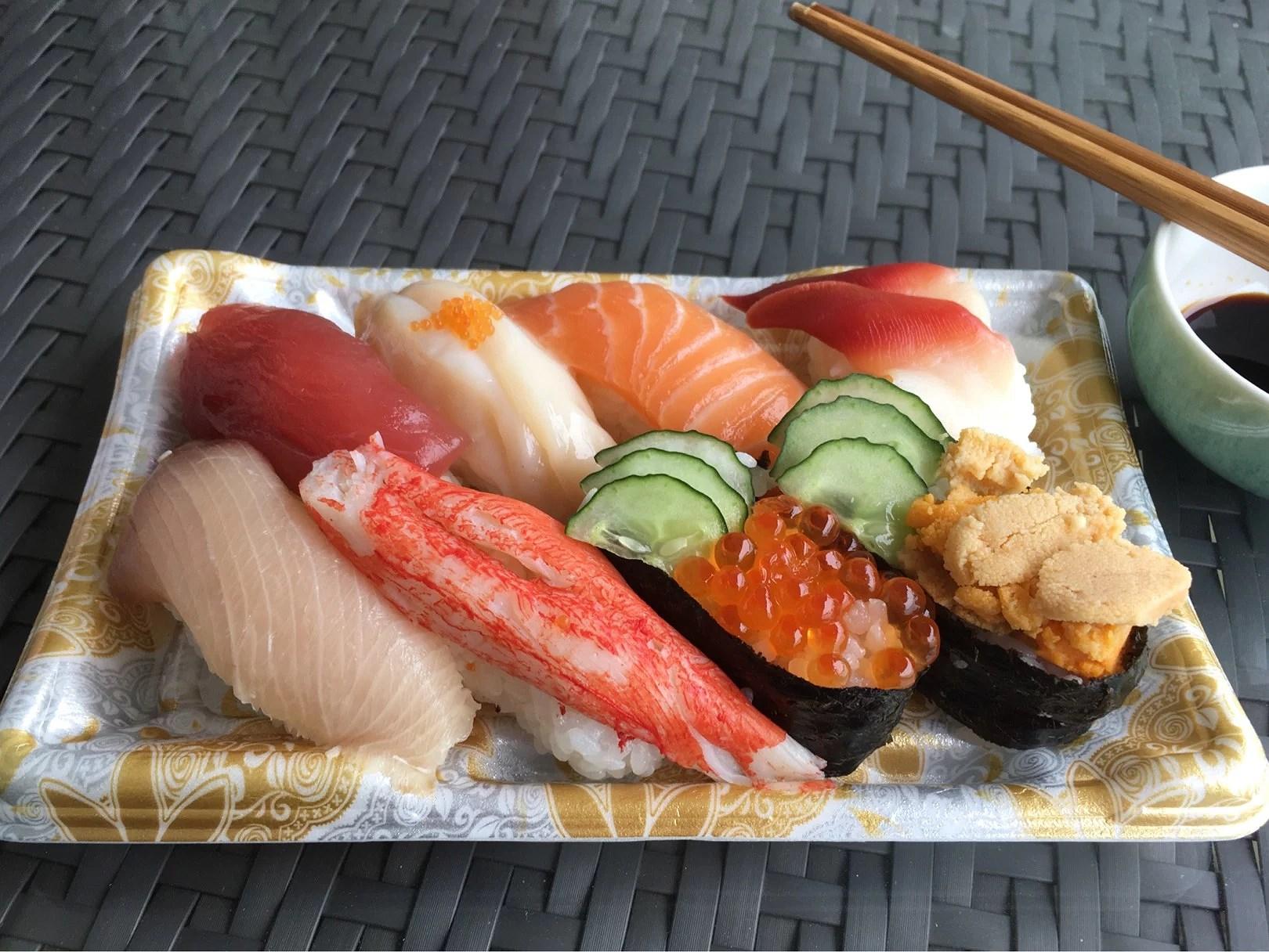 Sushi till lunch