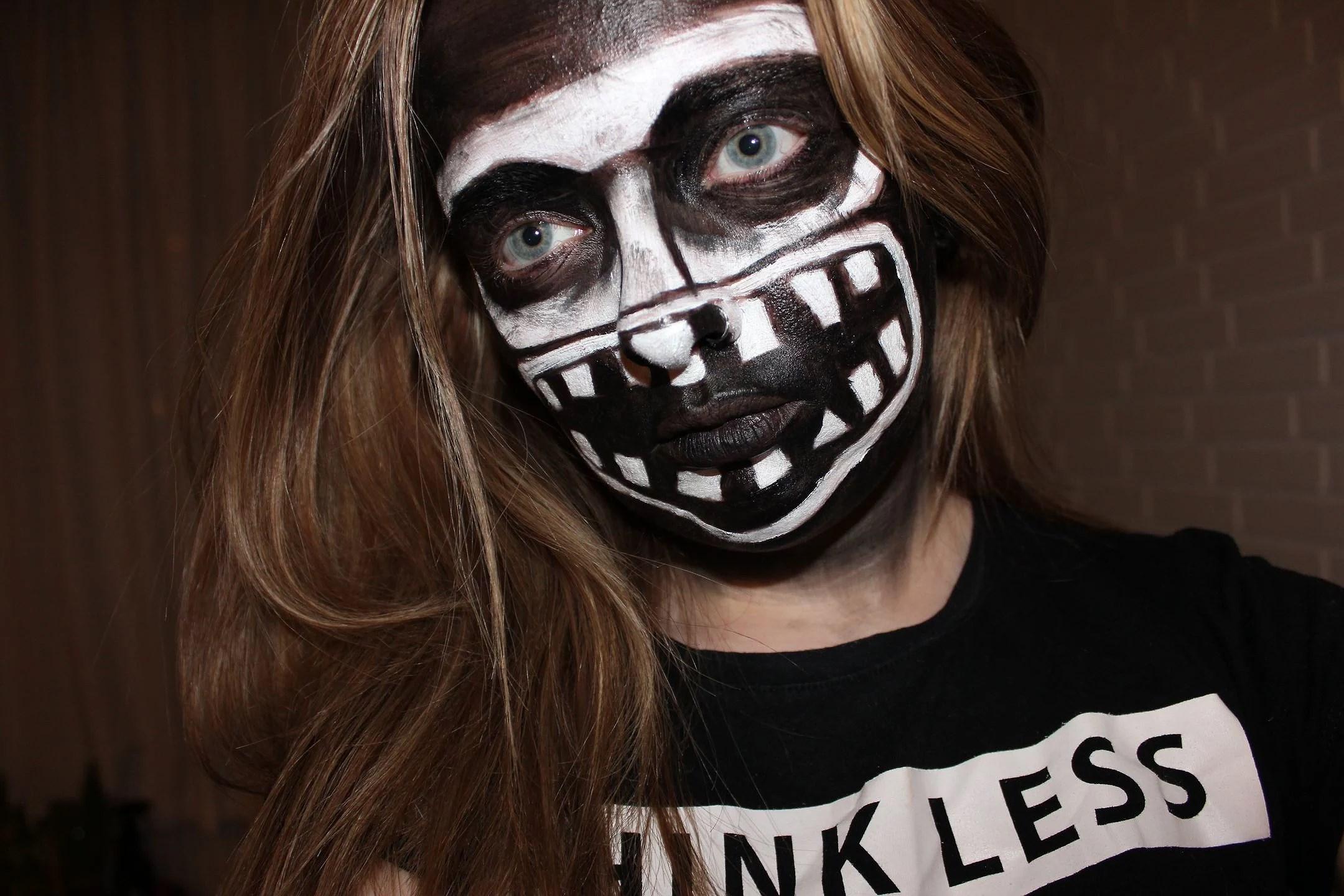 Halloween makeup #1 // The Babadook