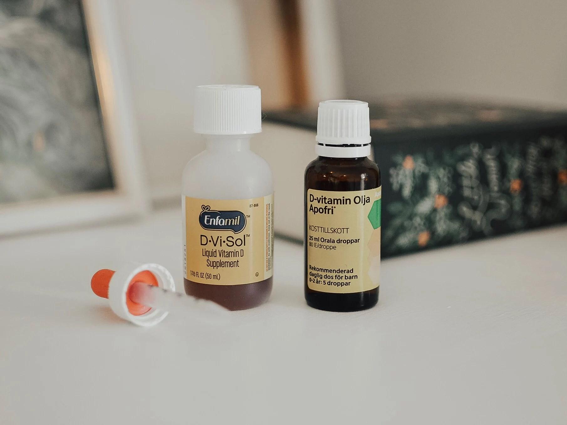 d vitamin sverige