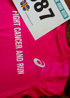 Fight cancer and run.