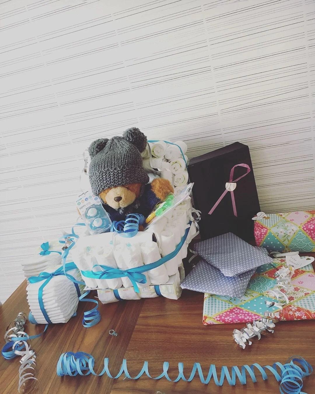 Babyshower för Kitty 👶🏼💙