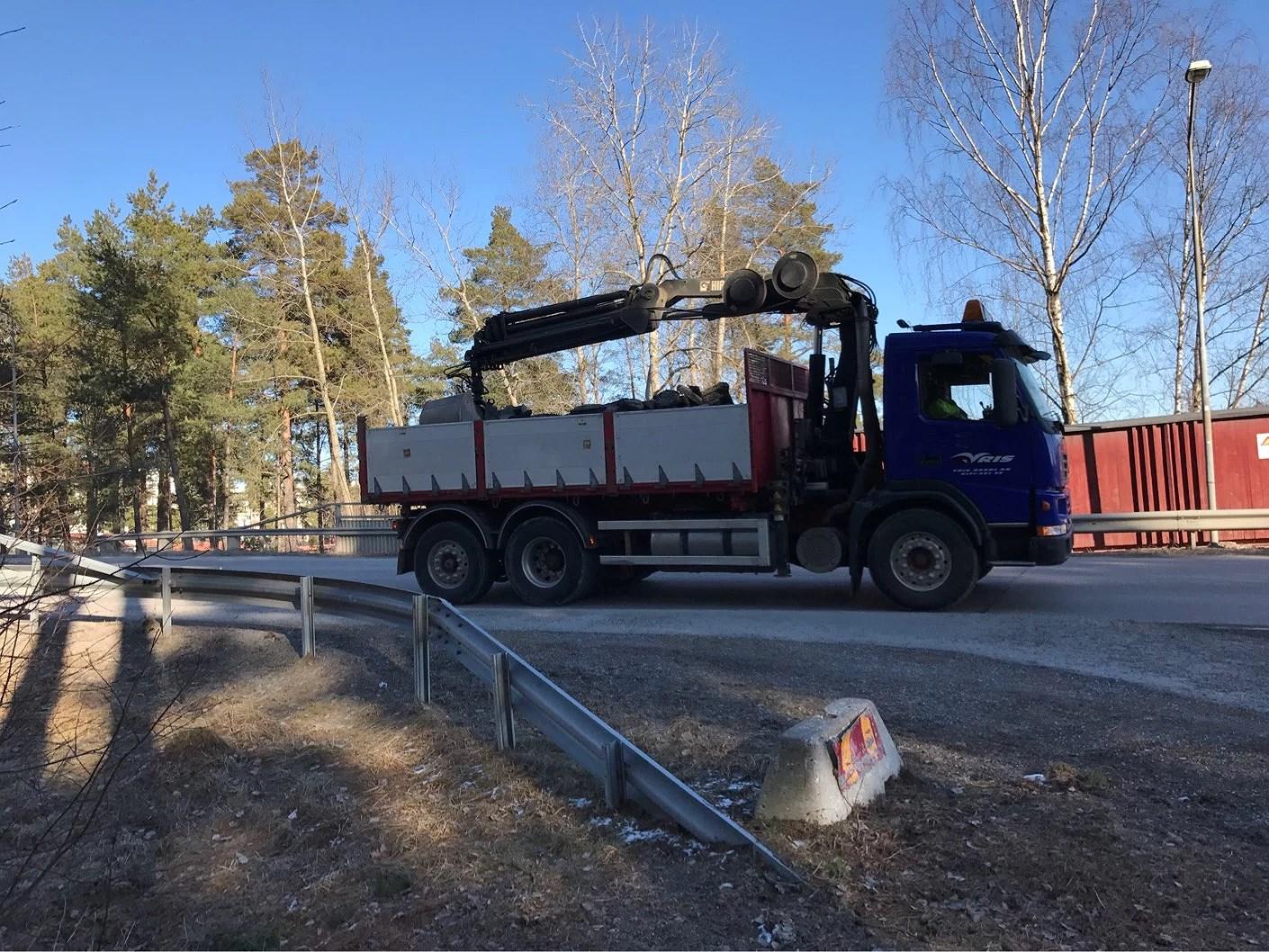 Lastbilsspaning och migrän