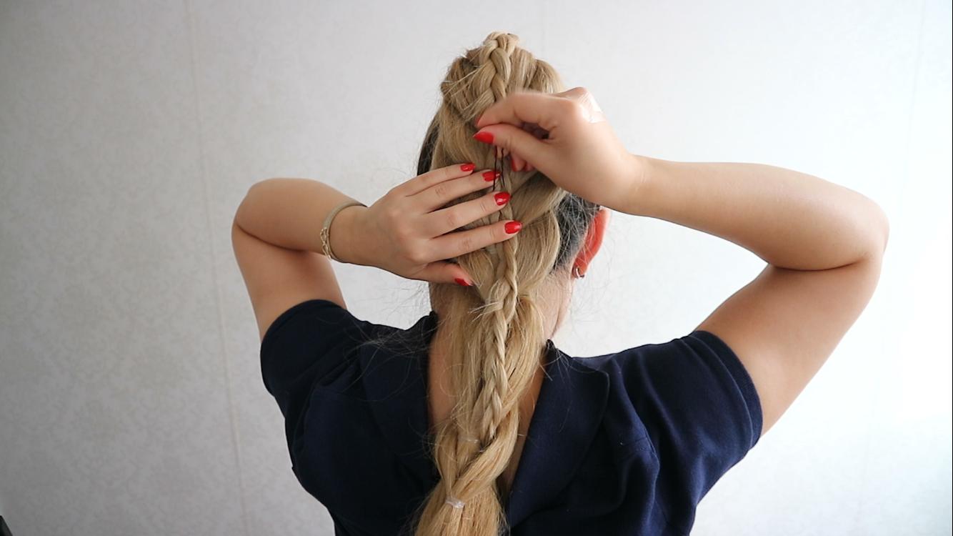 PULL THROUGH HAIR TUTORIAL