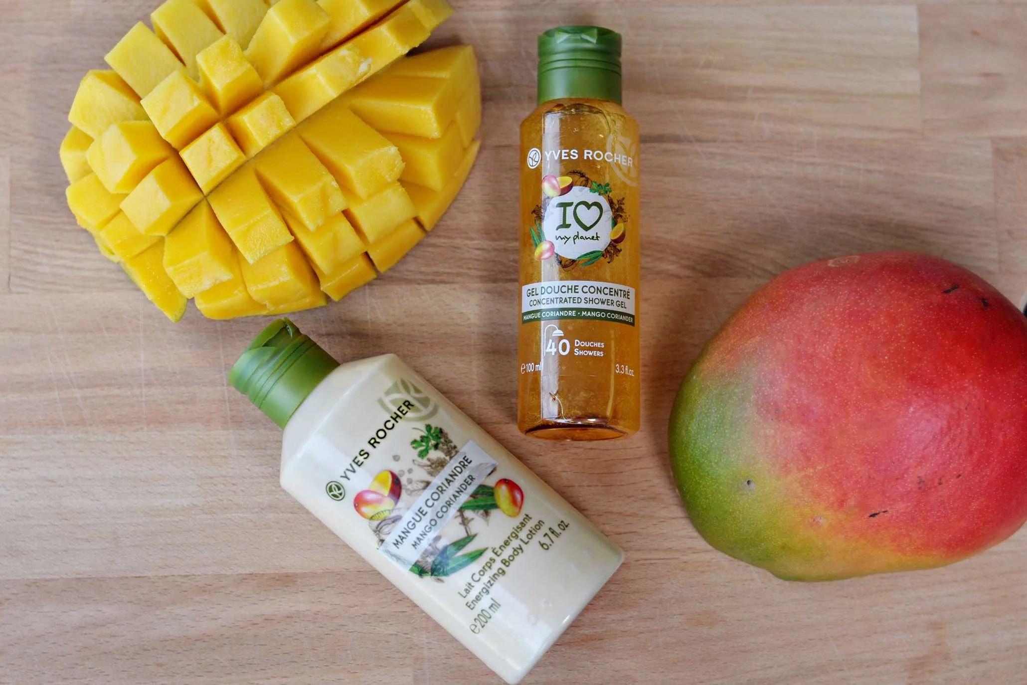 Duft af sommer, mango og koriander