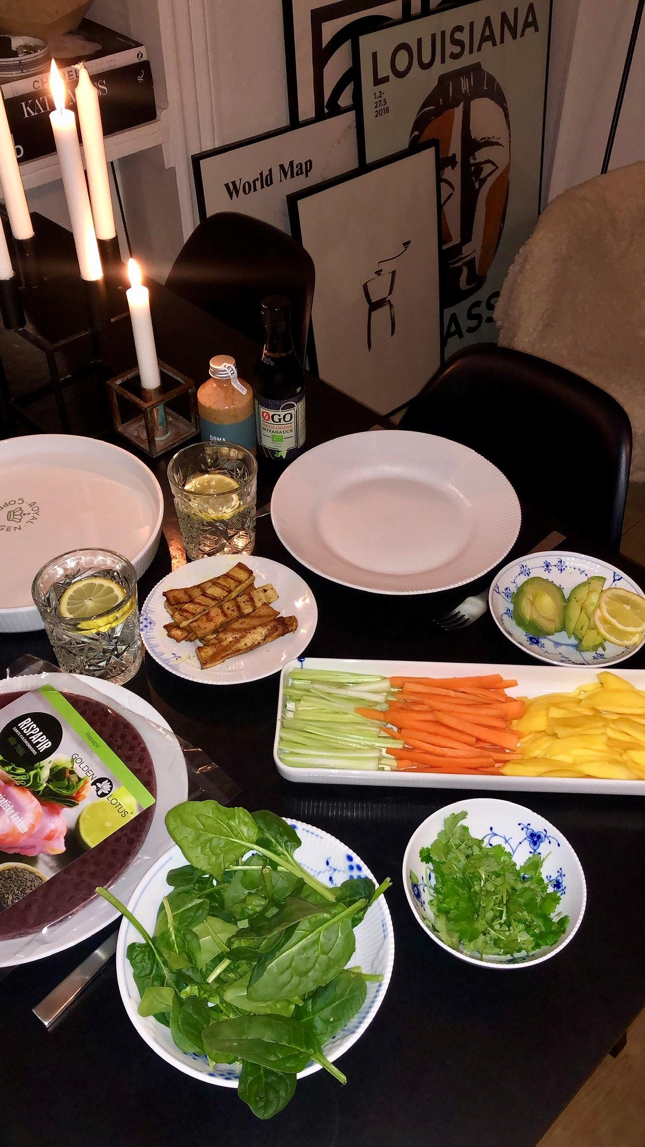 Nem sund vegetarisk aftensmad