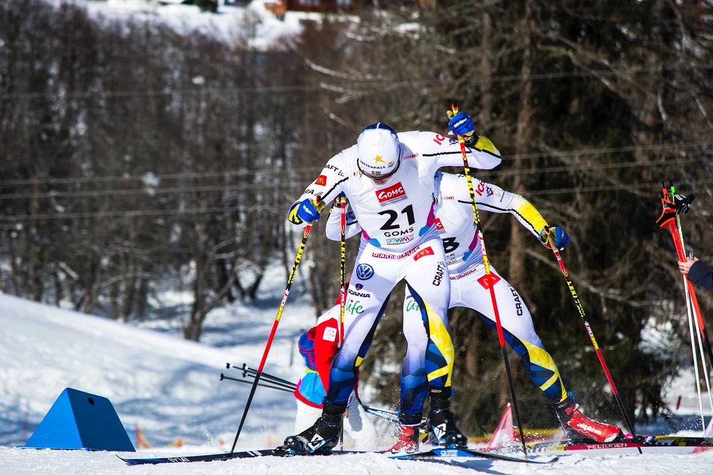 Skiathlon vart en tuff historia