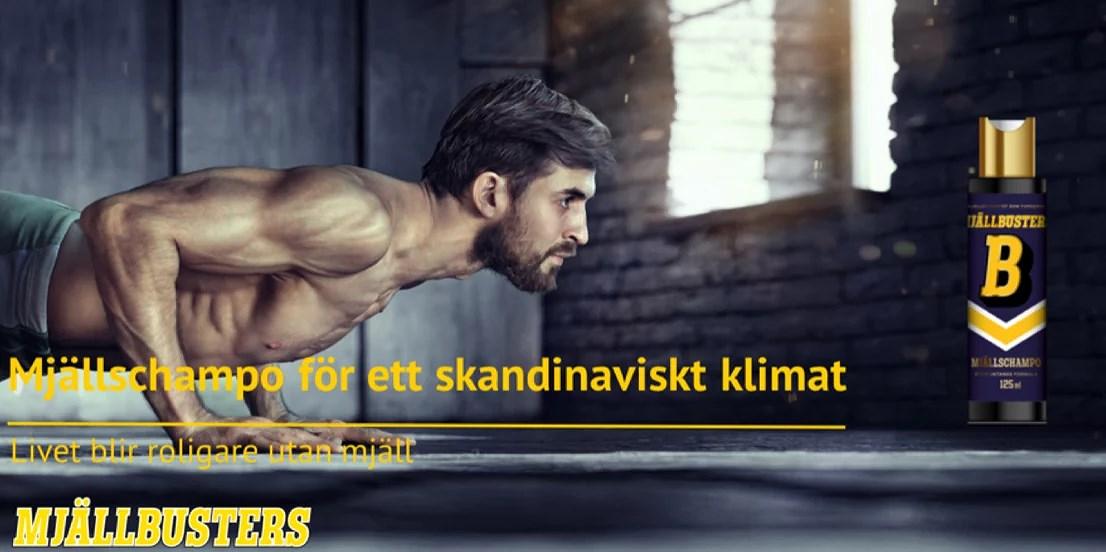MJÄLLSCHAMPO FÖR DEN MODERNA MÄNNISKAN