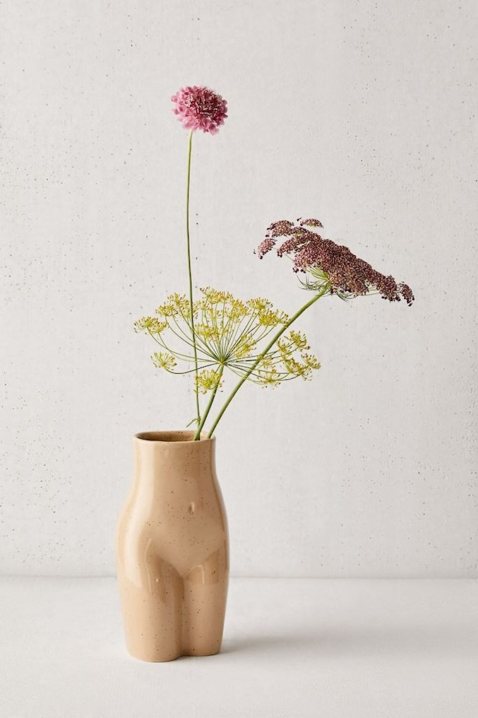 female form vase urban outfitters
