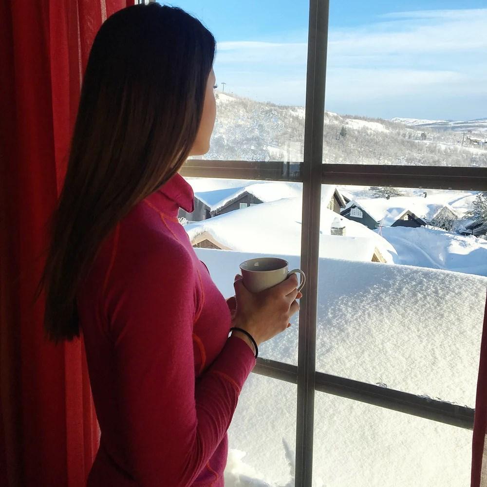 God morgen fra fjellet