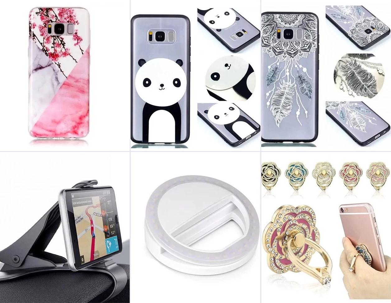 Akcesoria do telefonu Samsung galaxy S8 CASE