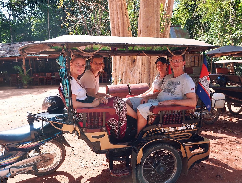 Sista tiden i Kambodja