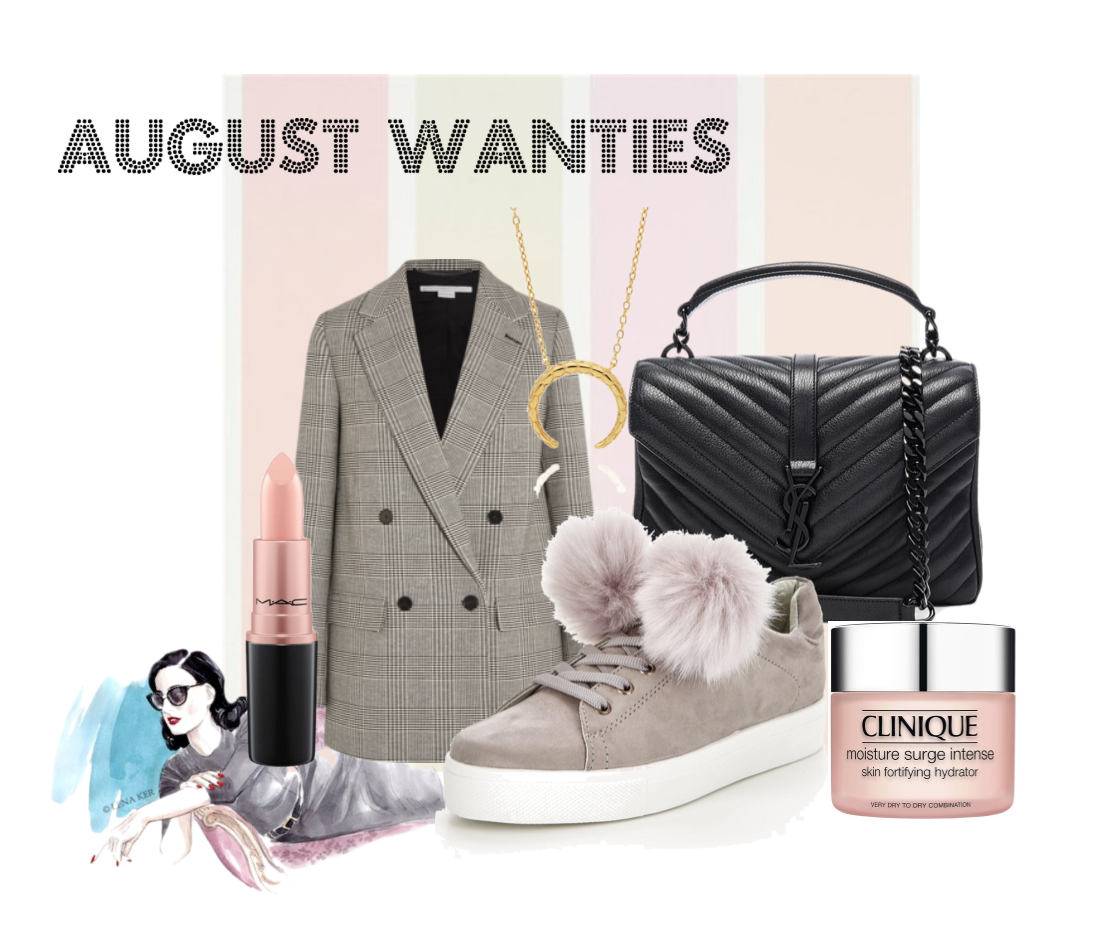 My monthly wishes // August