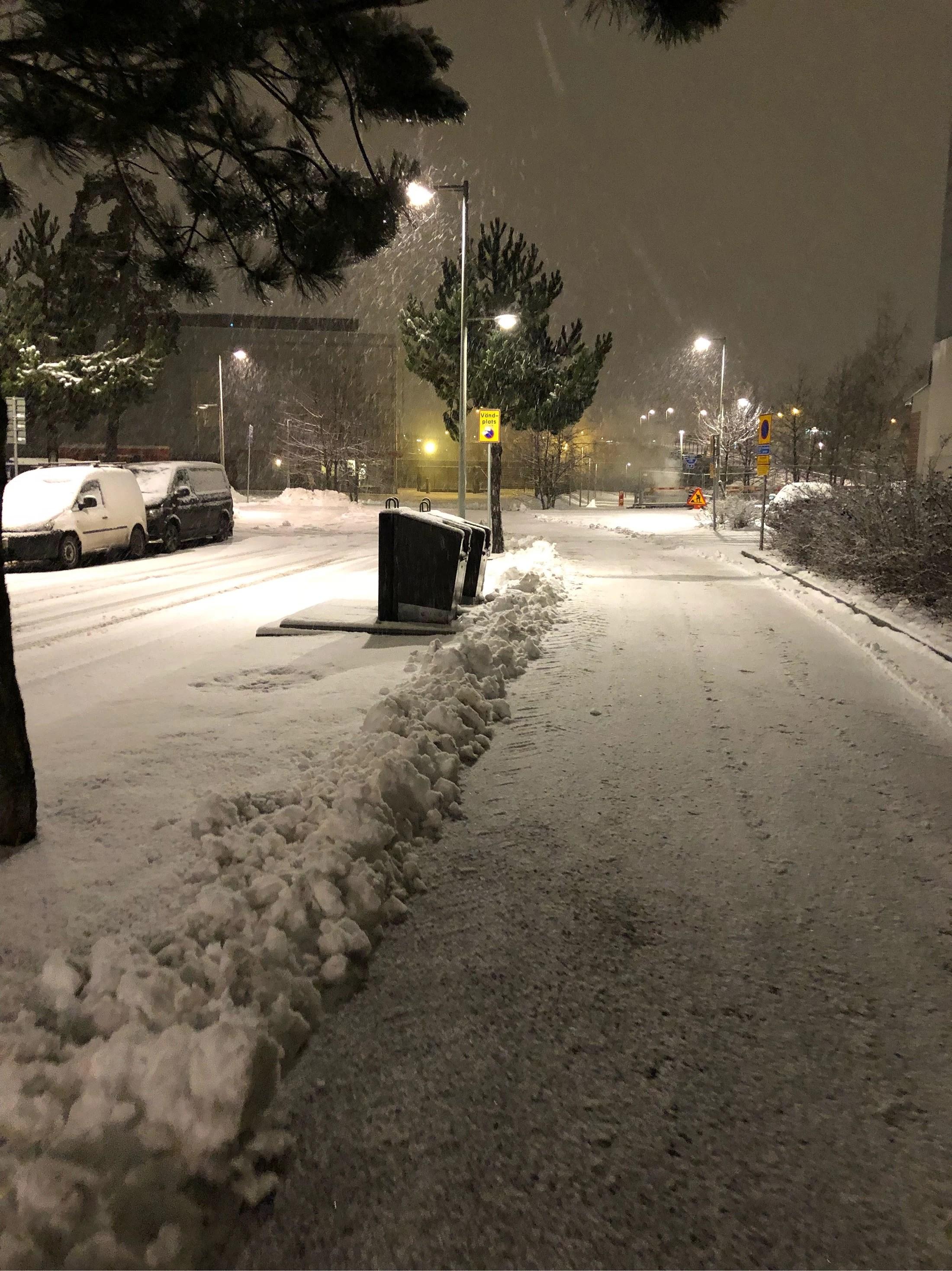 Snö/regn/slask