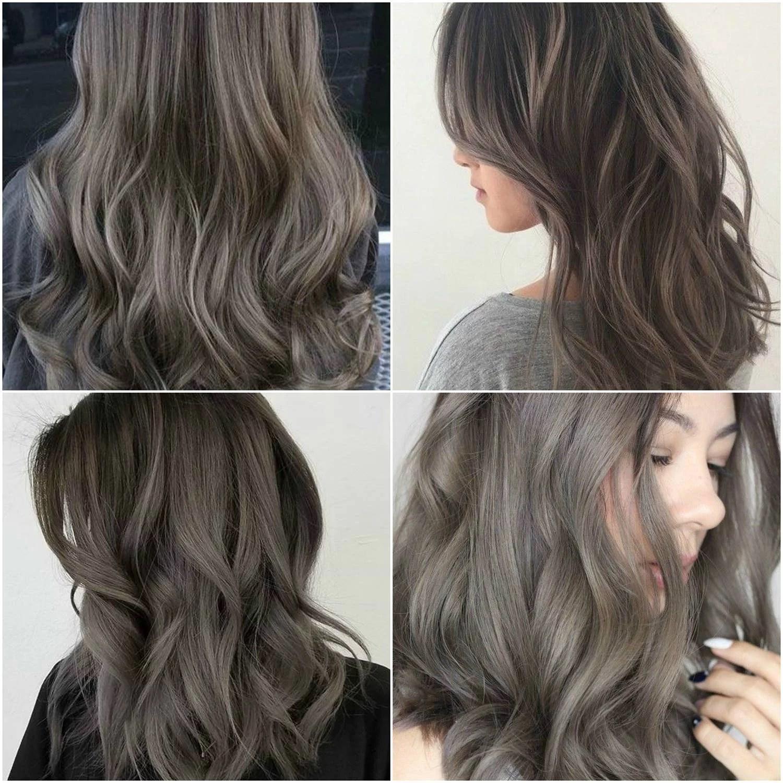 Askbruna hårfärger