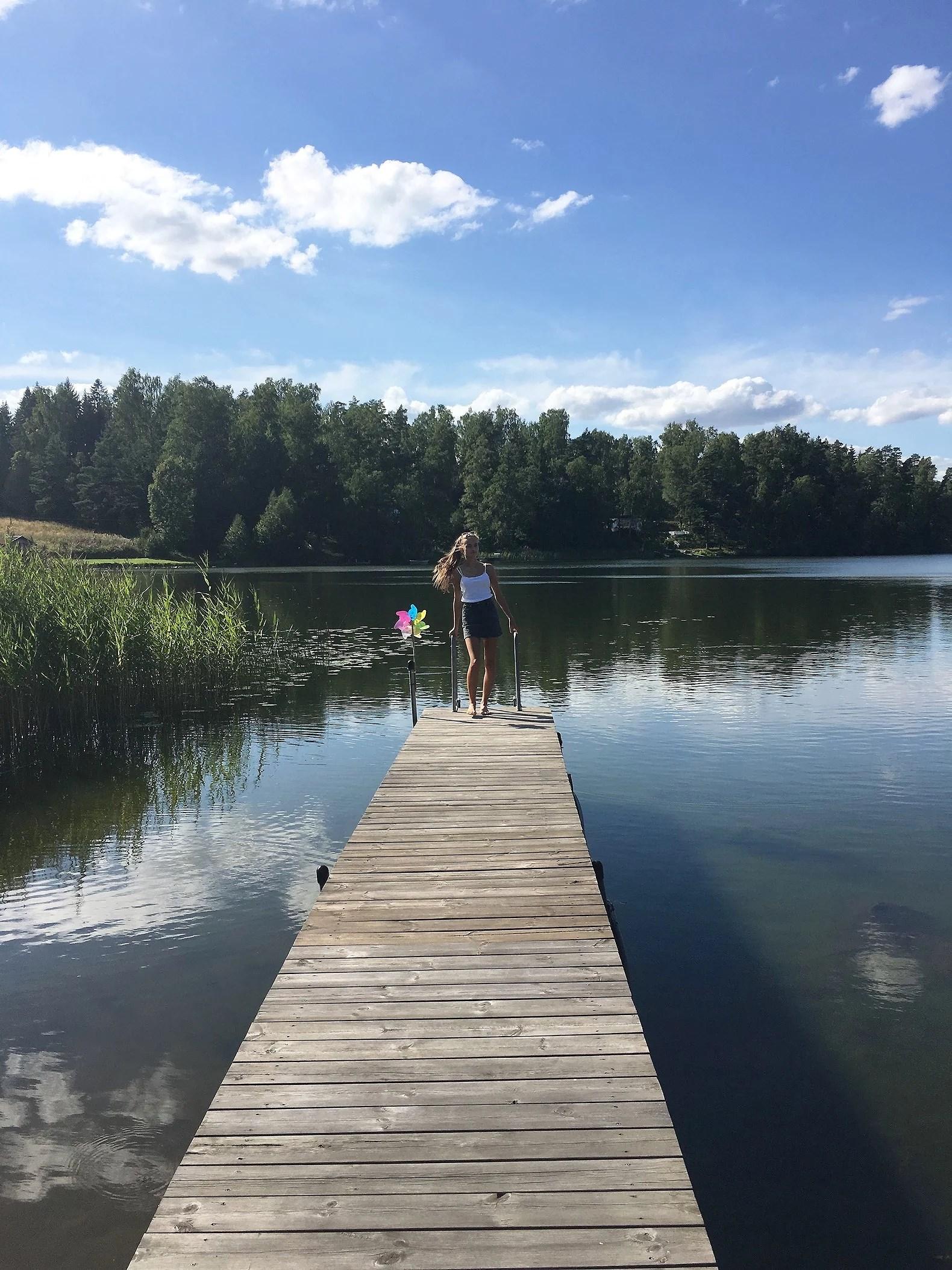 Mys vid sommarstugan
