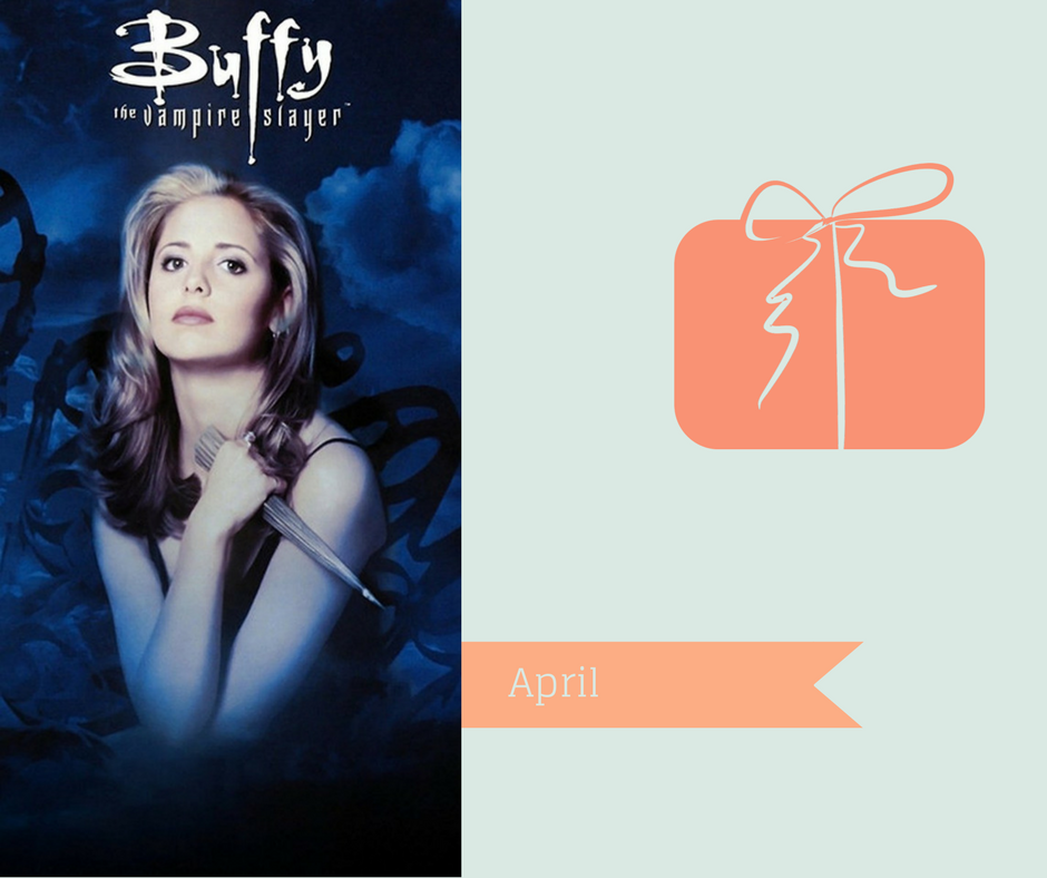 90-tals serier man borde sett- Buffy the Vampire Slayer