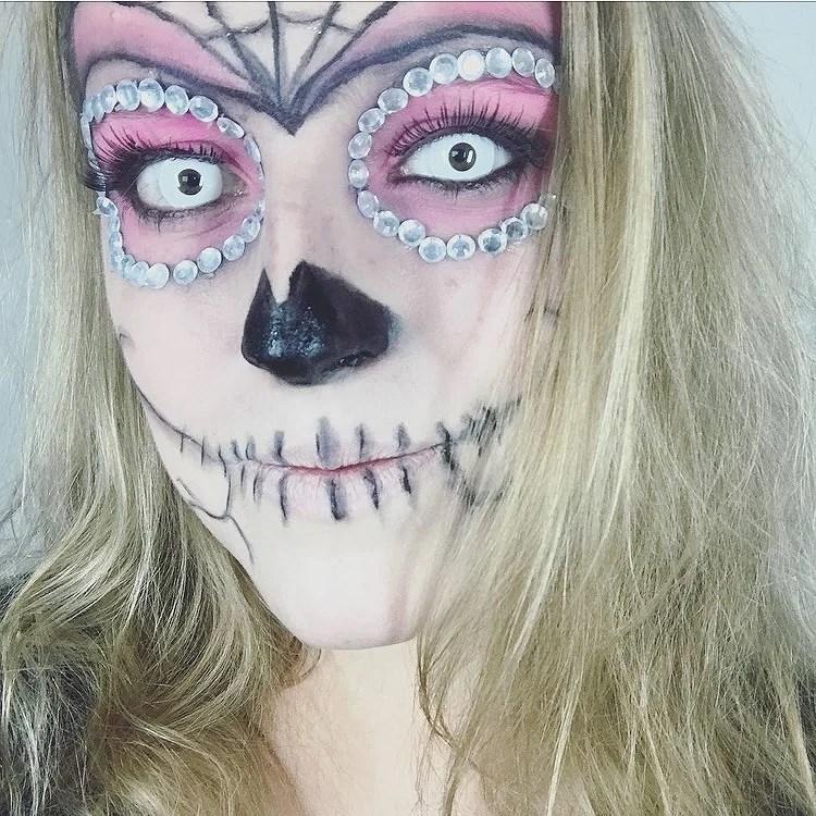 Inspiration Halloween - Sugar skull