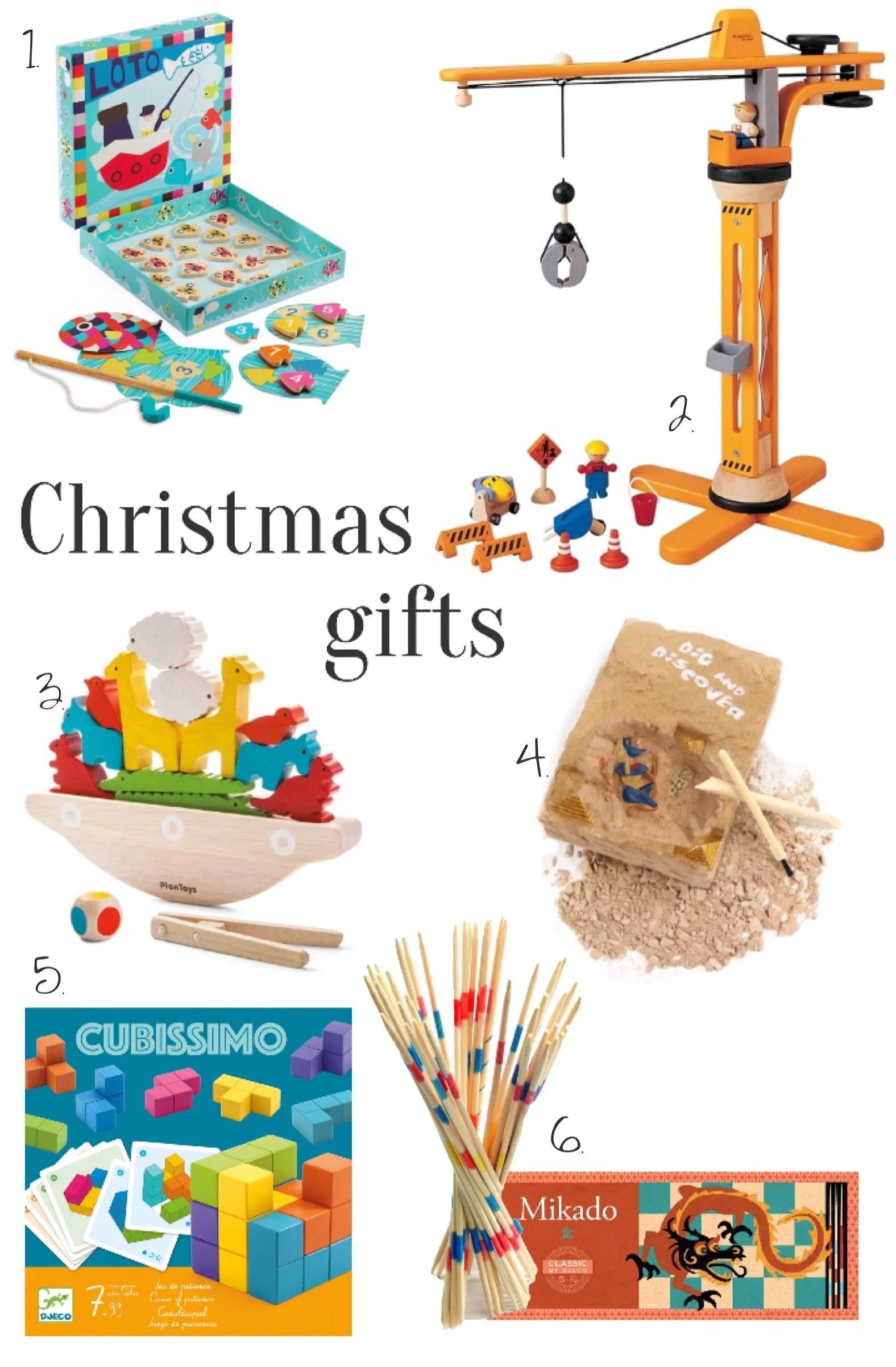 I barnens julklappssäck