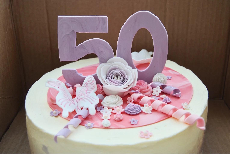 Tårta till en 50 åring