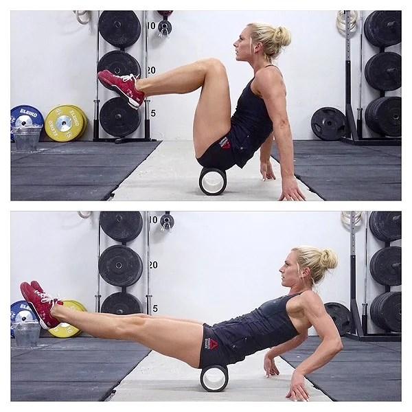 Veckans övning: balans-crunch
