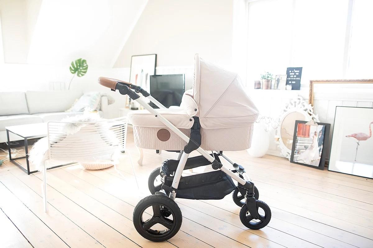 krist.in baby vogn petit cherie heritage sand farge bagdel barnevogn jollyroom