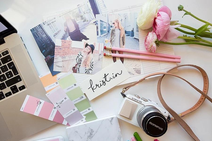 krist.in design blogg farger