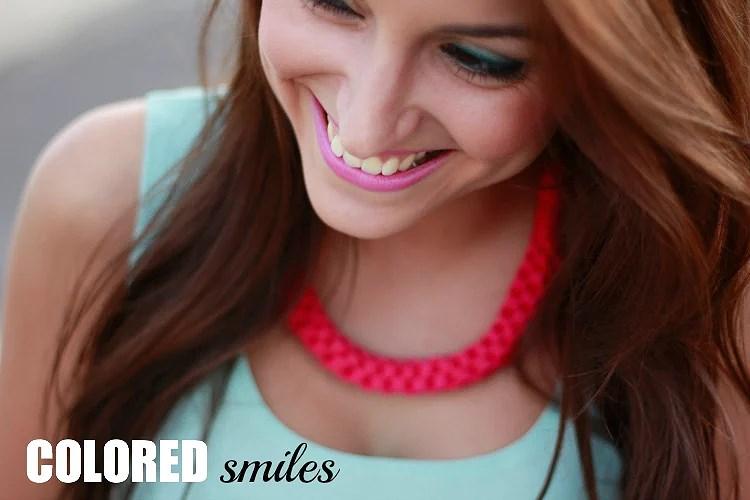 COLORED smiles