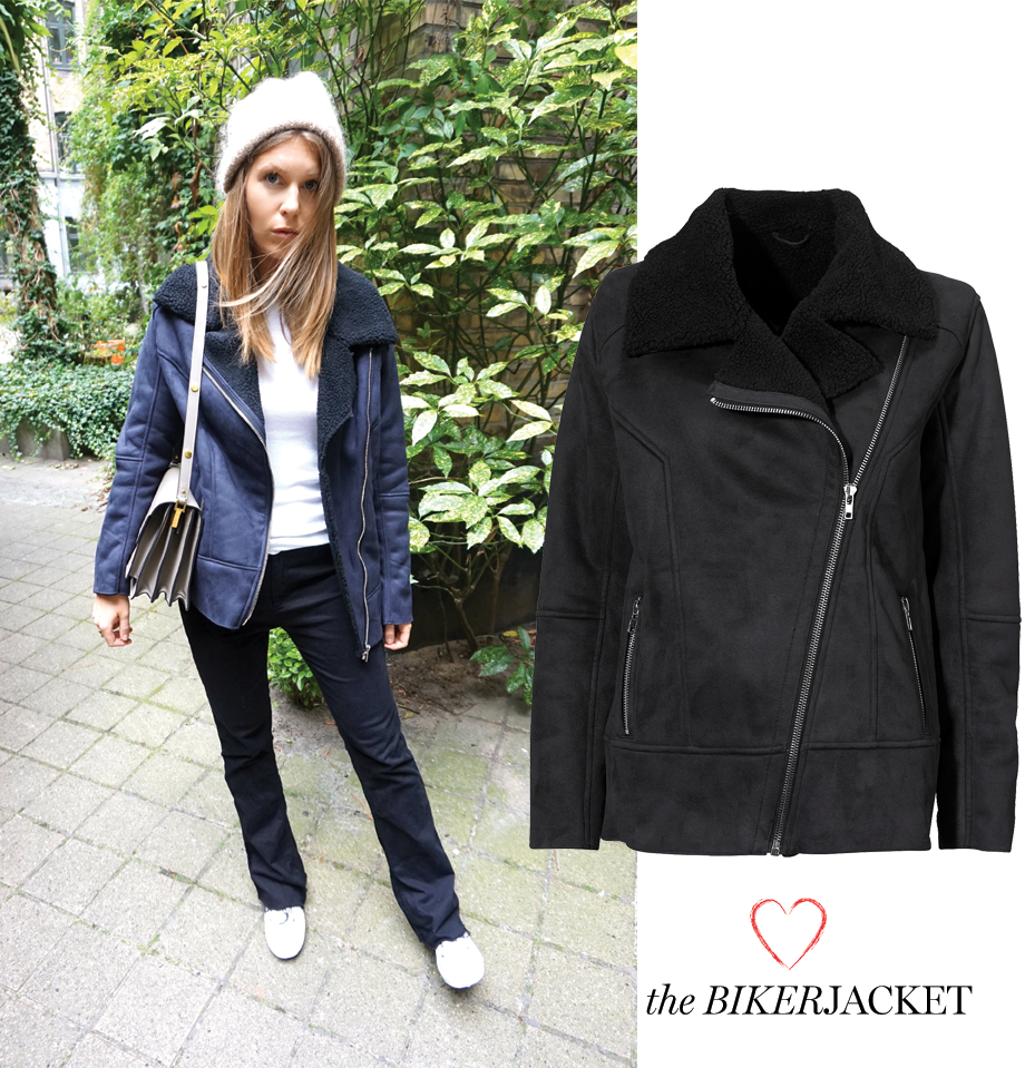 NEW IN: THE BIKERJACKET
