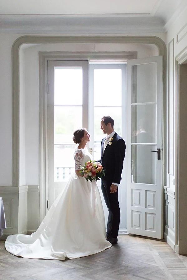 Ett lantligt bröllop från i somras