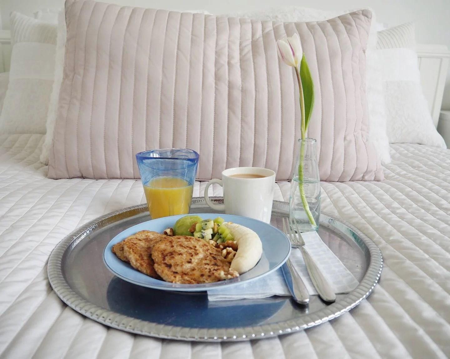 vegansk frukost - stek havregrynsgröten