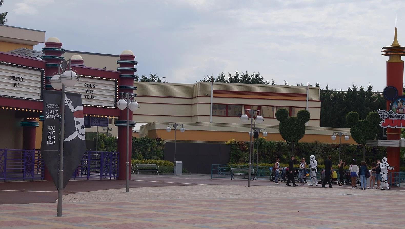 Stängda attraktioner på Disneyland Paris under Oktober - December 2017 på Disneyland Paris