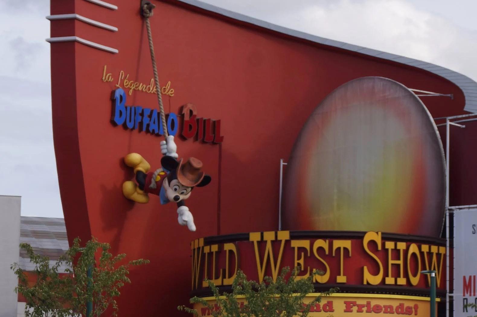 Meny för middagsshow på Disneyland Paris - Disney Village (EuroDisney)