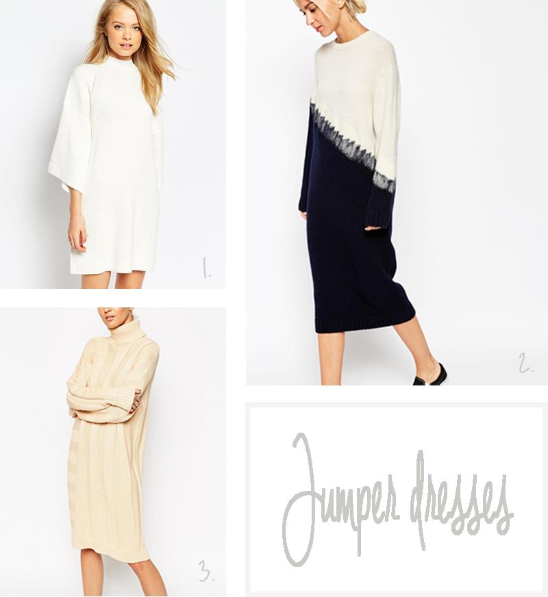 jumper dresses