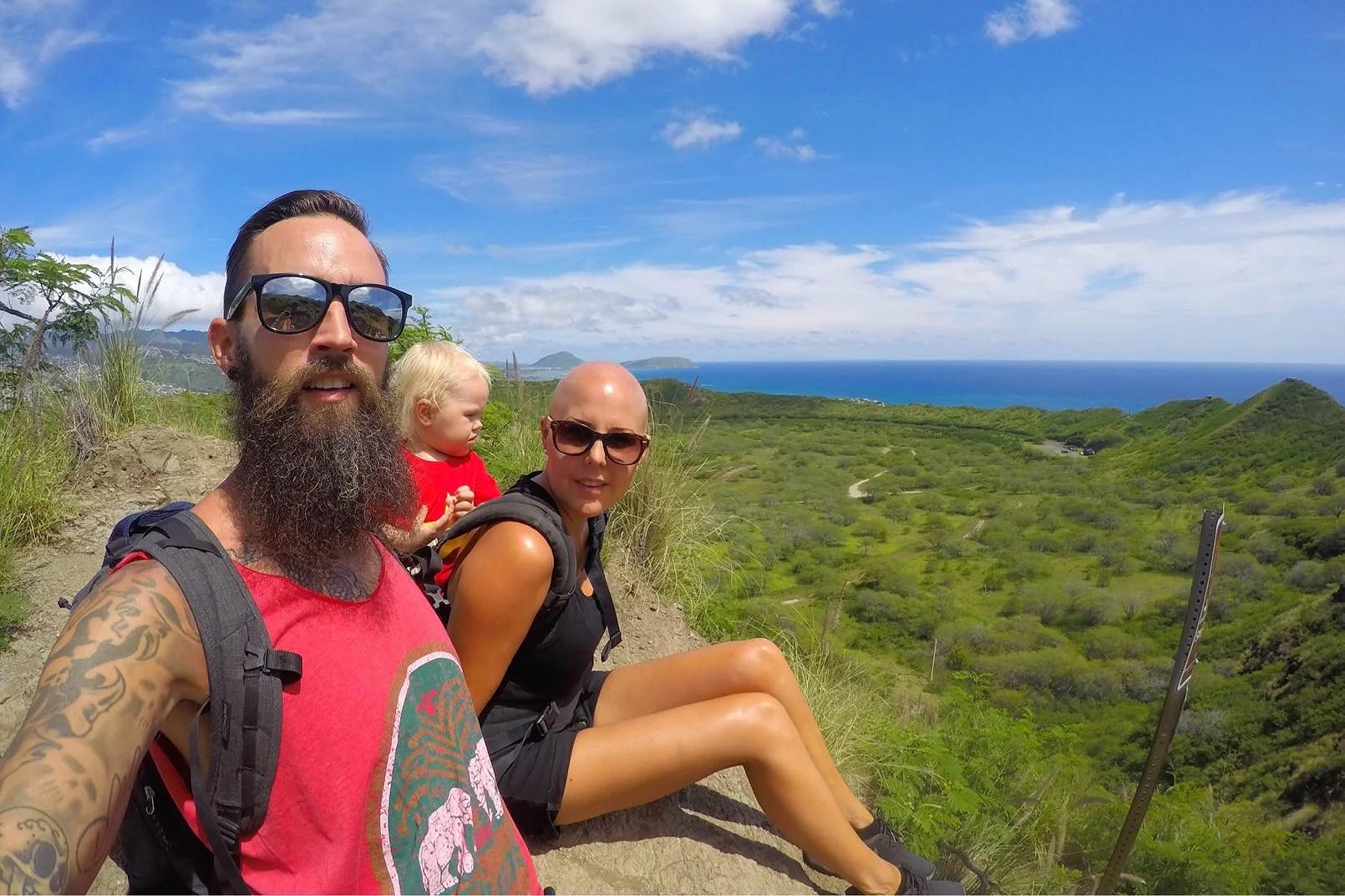 Hike på Hawaii