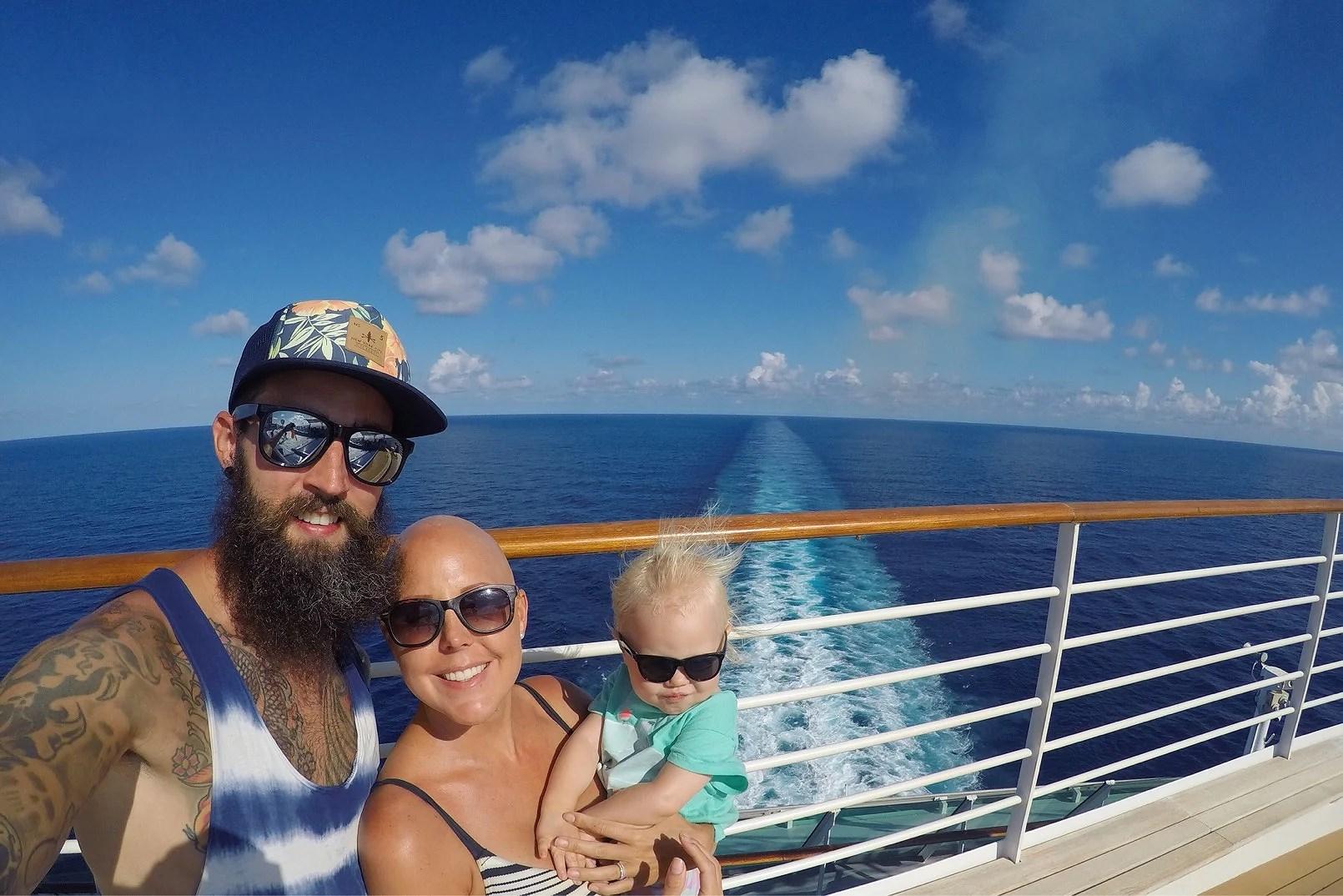 Sista dagarna på Karibienkryssning